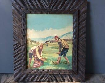 1940's Peruvian Painting