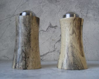 Salt and Pepper Shakers (Spalted Tamarind)