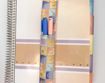 Zodiac Theme Pretty Pen Pocket Planner Band Pen Holder