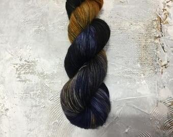 Hand Dyed Yarn - DK weight Yarn - Abandon Reason - merino