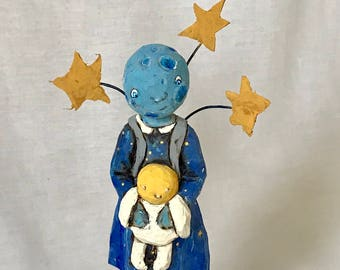 Son, Moon, And Stars - OOAK - USA