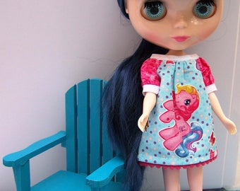 Playscale 1:6 Blythe Pullip Barbie YoSD Adirondack Chair in Sky Blue or Ocean