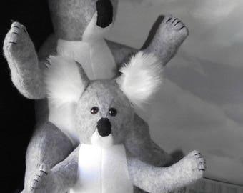 Koala & Baby Koala CLEARANCE Stuffed Animal Pattern to Sew