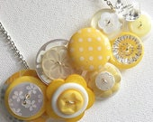 Button Necklace - Banana ...