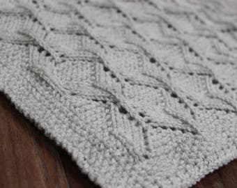 instant download 'BooBoo' baby afgham blanket pattern 378