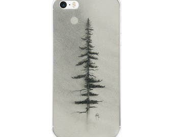Solitary Pine iPhone Case
