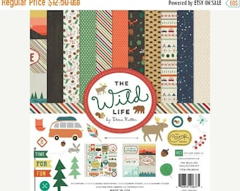 ON SALE Echo Park The Wild Life Collection Kit