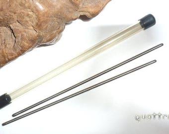 Hair Sticks by Quattro 'Titanium' Basics