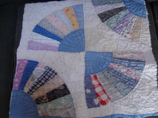 Vintage Fabric Quilt Squares/ Remnants/Antique Quilt/ Patchwork ... : patchwork quilt squares - Adamdwight.com