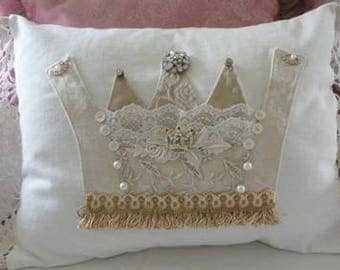 Fit for a Queen, Crown Pillow