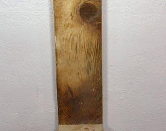 "Rustic Shelf barnwood 26"" tall,5.5"" wide, shelf is 5.5""x5"""