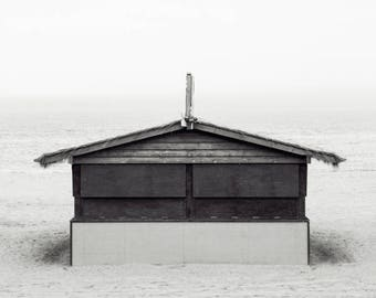Beach Vibes; fine art photography, modern, wall art, wall decor, black and white, photo, cottage, lake house art, cabin decor, by F2images