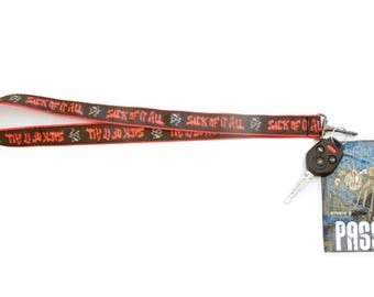 Sick Of It All - Offical Key Chain / Lanyard
