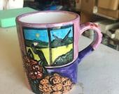 Day of the Dead Mug - Fri...