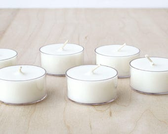 GINGER GRASS tea lights : SALE