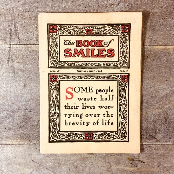 The Book if Smiles Issued by Standard Kiln Co 1914