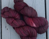 The Reason Marvin is Moping - 13# off - NEW hand dyed superwash Merino super soft wool blend sock yarn 462 yards 100 grams