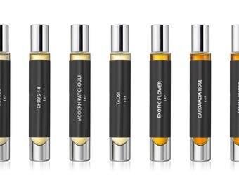 SAMPLES + TRAVEL SIZE, Natural Perfume, Eau de Parfum