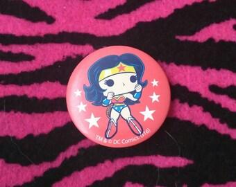 Funko Wonder Woman pin back button