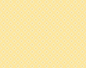 Bee Basics By Lori Holt Stitched Flower Yellow (C6409-Yellow)
