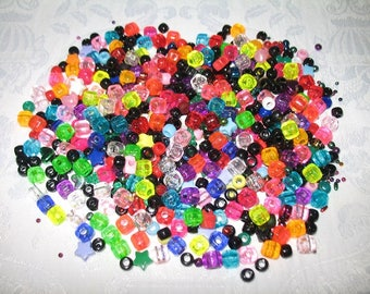 Beads Galore in Various Size, Color, and Shapes