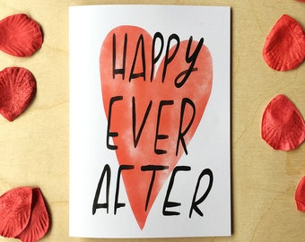 HAPPY EVER AFTER card cc219