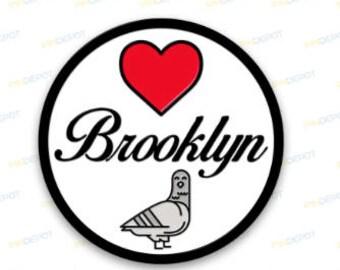 I love Brooklyn pin