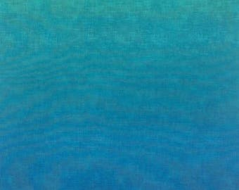 Studio Ombre Turquoise Capri Timeless Treasures fabric 1 yard