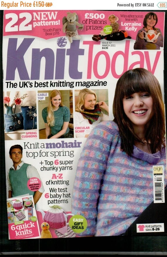 Christmas In July Knit Today Knitting Magazine Issue 57 March 2011