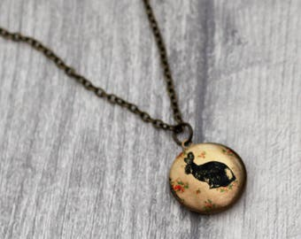 Rabbit Locket Necklace