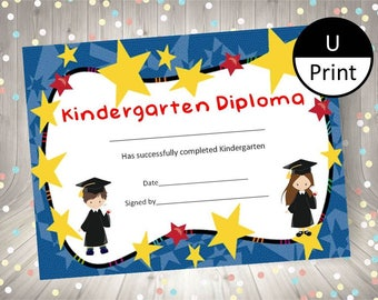 printable preschool graduation certificates