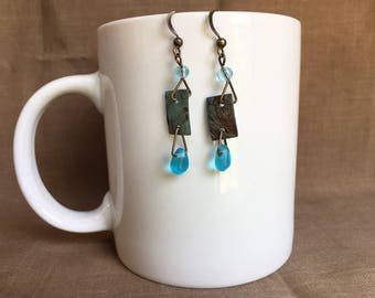 Winter! ... Extreme Decaf Earrings .. FREE U.S. SHIPPING