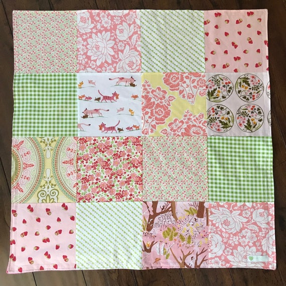 32x32 Cats Baby Blanket Ready to Ship