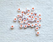 SALE - Red Heart Beads - Sets of 38                                                                                       04/18
