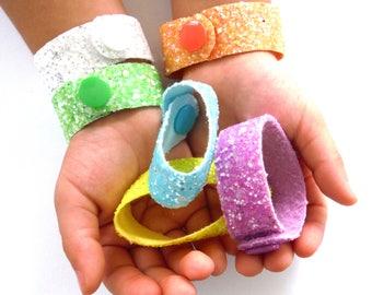 2 Glitter Bracelets