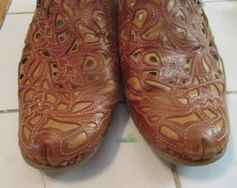 PIKOLINGS SHOES, CLOGS, Made in Spain, SlipOns,Hand Stitched