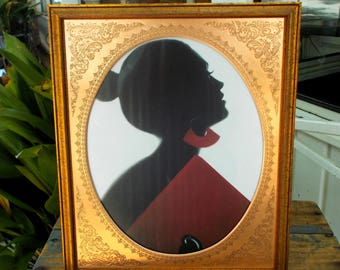 "Vintage Inspired Standing Photo Frame 10"" by 12"" Embossed Copper Inset"