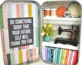 Tiny Tin Sewing Room ~ Do Something Today...