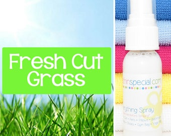 Fresh Cut Grass Everything Spray, Body Spray, Room Spray, Bathroom Spray, Car Spray, Pet Spray, Blanket Spray, Pillow Spray, Kids Room Spray