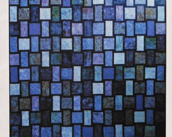Quilt Pattern - Blue Moon by Designs by jb