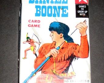 Vintage (1965) Card Game - Daniel Boone