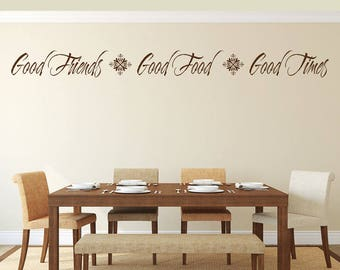 Dining Room Decor Dining Room Sign Dining Room Wall Art Dining Room Wall  Decal Dining Room