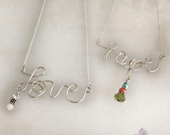 Love & Hope Necklaces