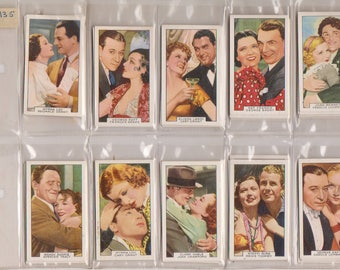 46 Gallaher Tobacco Trading Cards Cigarette cards Film Partners MINT! OBO