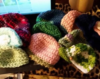 SALE Fits   (8) 18 inch Doll Hats Many Different Styles Great Party Favors