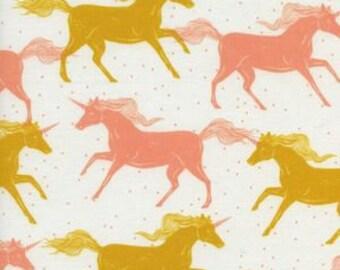 unicorn baby girl bedding, unicorn crib sheet, crib sheet, baby girl crib sheet, baby girl bedding- pink girl bedding- yellow crib sheet