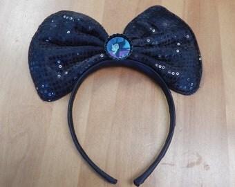 Disney Inspired Mickey Ears BOW Sleeping Beauty