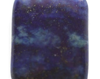 Natural Afghan Lapis Lazuli AA Quality 15x20mm Puffy Rectangular Bead