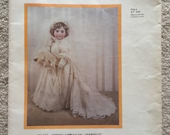 """Byron Doll Patterns: Wedding Dress for 27"""" Doll"""