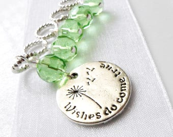 NEW - Wishes On The Wind - Five Handmade Stitch Markers - Fits Up To 5.5mm (9 US) - Limited Edition